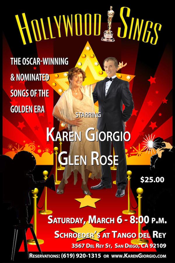 Karen Giorgio in Hollywood Sings Cabaret
