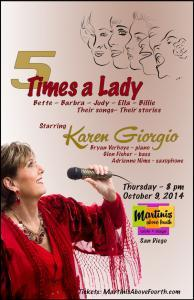Karen Giorgio in 5 Times A Lady