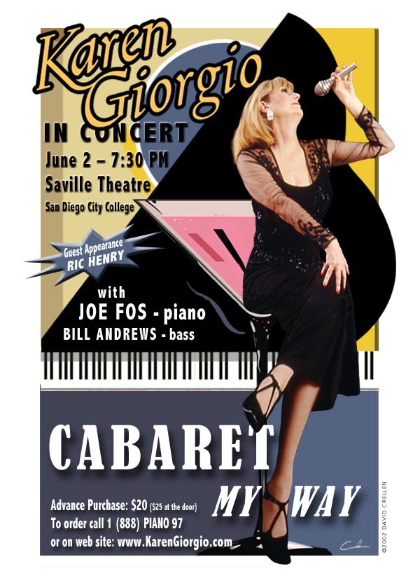 Karen Giorgio in Cabaret My Way