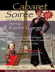 Karen Giorgio in Cabaret Soirée